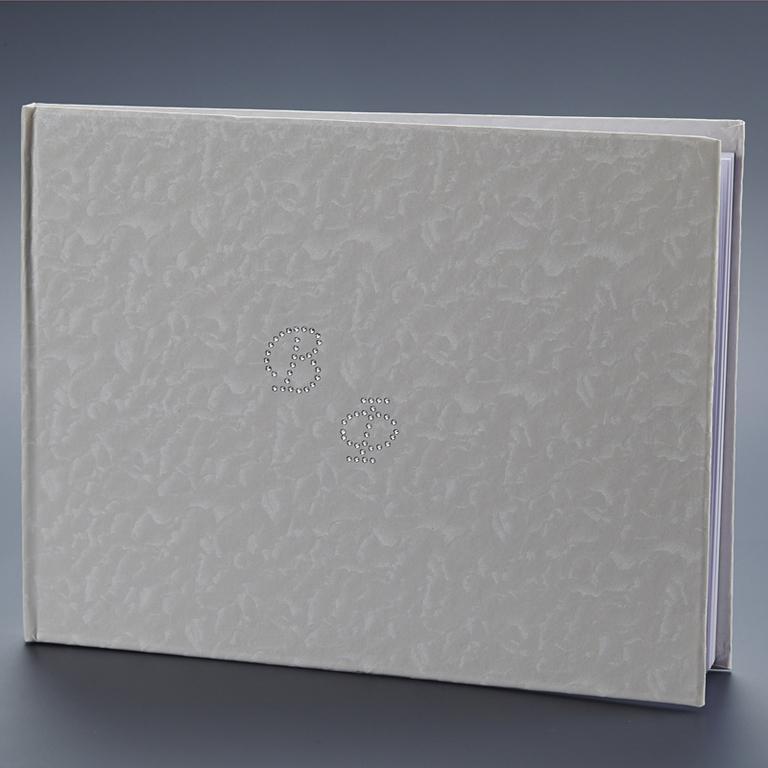 Βιβλίο Ευχών Με Αρχικά 27x20cm