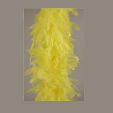 Γιρλάντα απο φτερά 190cm Κίτρινη