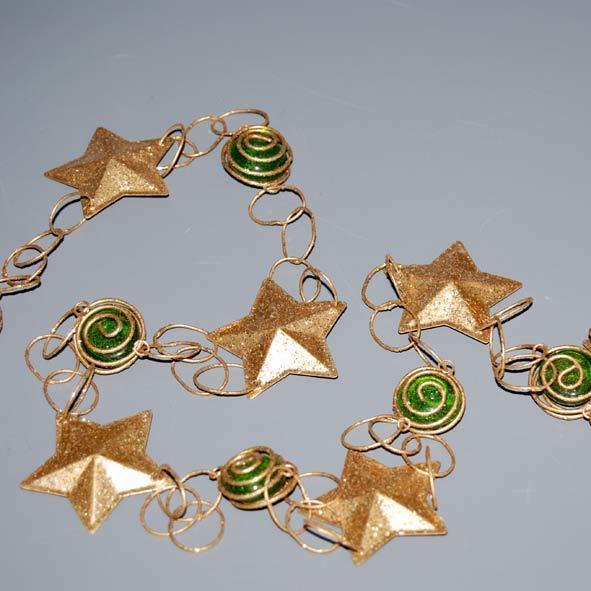 garland-stars-gliter-gold-190cm