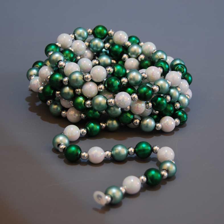 girlanta-me-perles-leykes-prasines-270cm