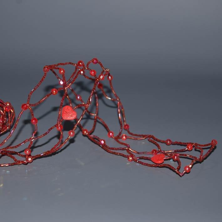 kordela-metalliki-me perles-kai-kardies-5cm