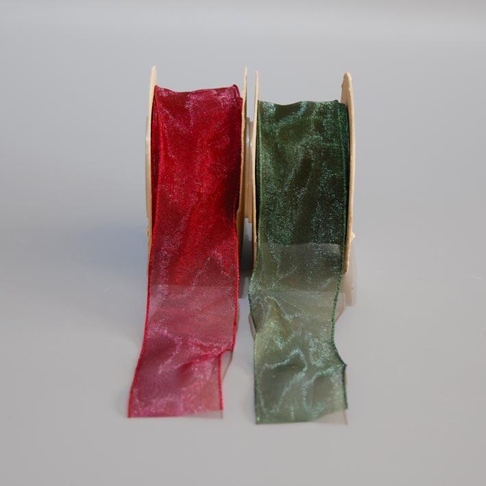 Κορδέλα Οργαντίνα Κρυσταλιζέ 3,5cm